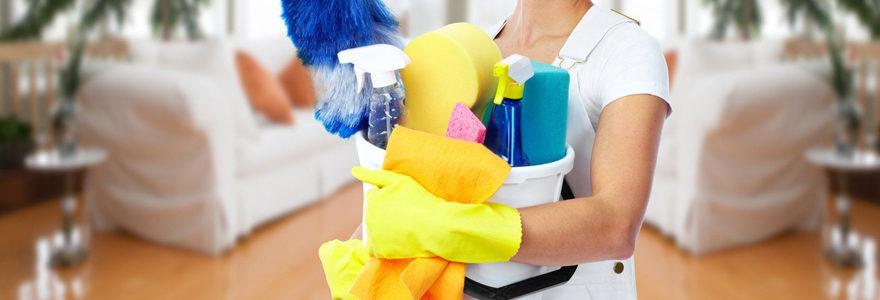 une femme de ménage